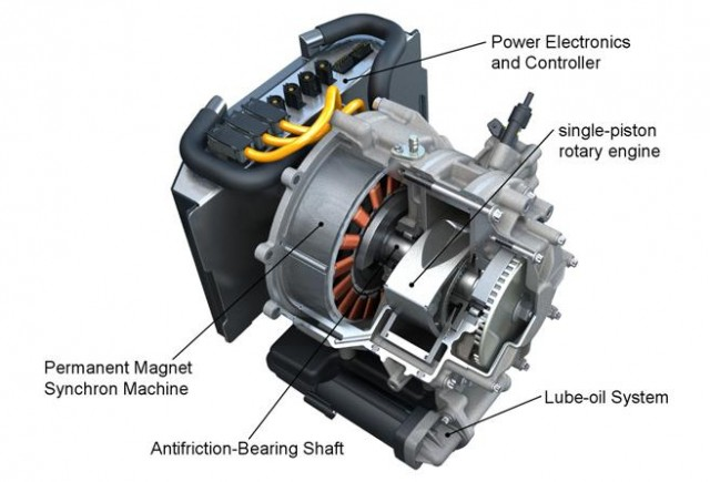 Avl Rotary Engine Range Extender For Electric Drive Vehicles July 2010