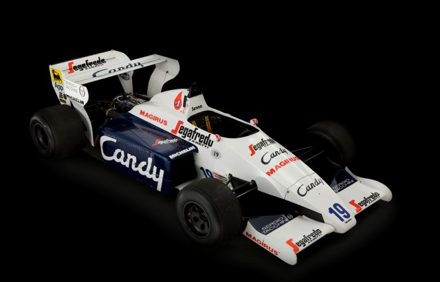 Ayrton Senna's 1984 Toleman TG-184