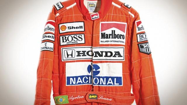 Ayrton Senna's Formula 1 racing suit