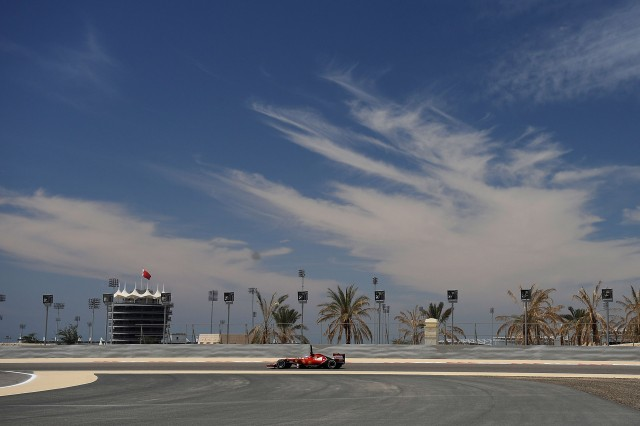 Bahrain International Circuit, home of the 2015 Formula One Bahrain Grand Prix