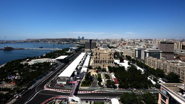 Baku City Circuit, site of the 2016 Formula One European Grand Prix - Image via Red Bull Racing
