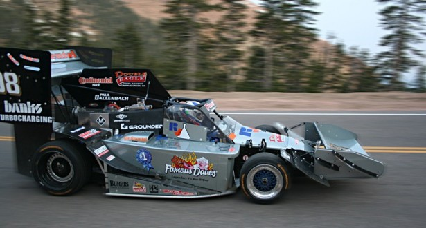 Banks Power twin-turbo Pikes Peak car