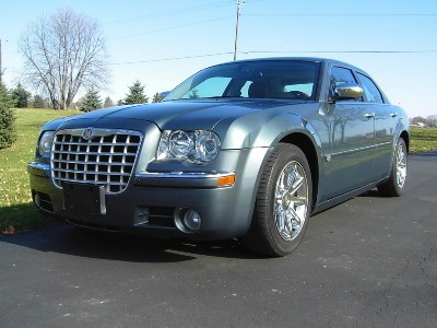 Barack Obama's old Chrysler 300C