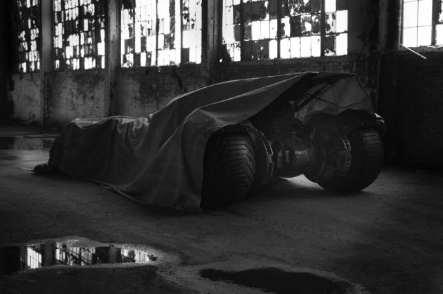 Batmobile for 'Batman vs. Superman' teaser