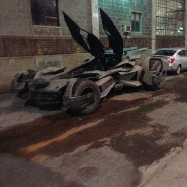 Batmobile from Batman v Superman: Dawn Of Justice (Image via Instagram user amacro13)