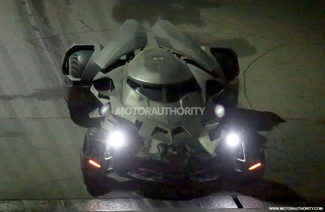 Batmobile from 'Batman v Superman: Dawn Of Justice'