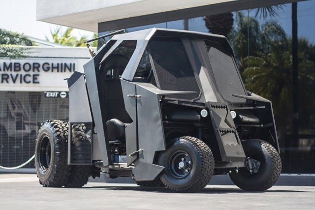 Batmobile Tumbler golf cart
