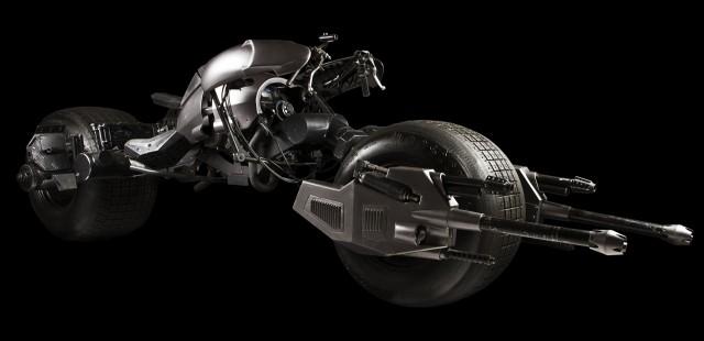 Batpod from 'The Dark Knight Rises'