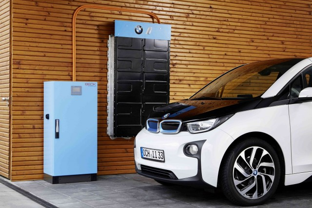 Battery Storage System Electrified By Bmw I