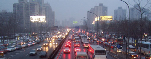 Beijing to begin odd-even car ban ahead of Olympics