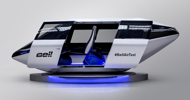Bell Helicopter air taxi concept at 2018 CES
