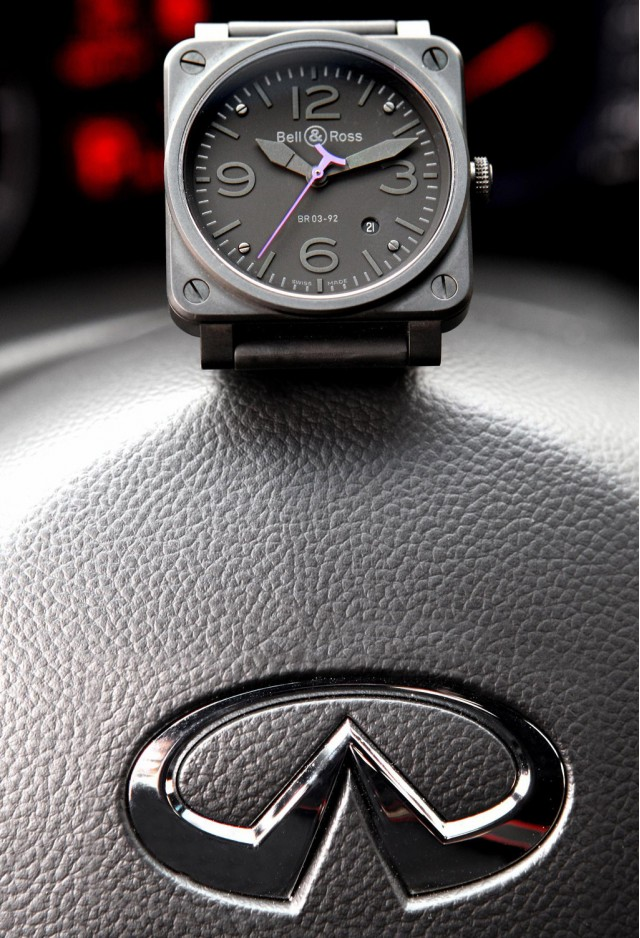 Bell & Ross Limited Edition BR03-92 Instrument Phantom Infiniti watch