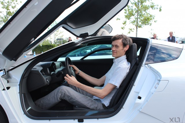 Bengt in Volkswagen XL1