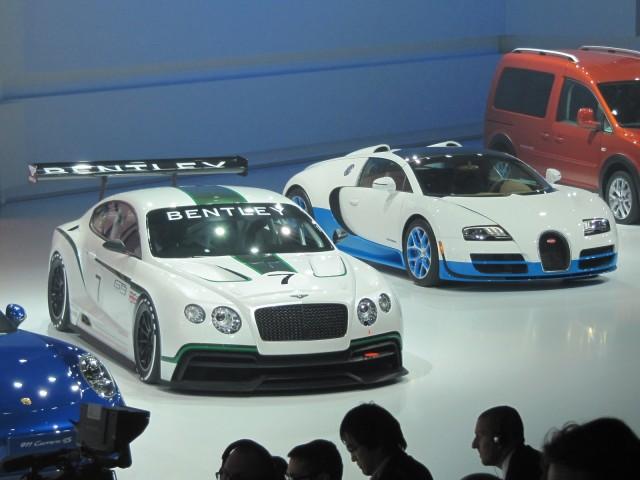 Bentley Continental GT3 concept, Paris Motor Show preview, Sep 2012