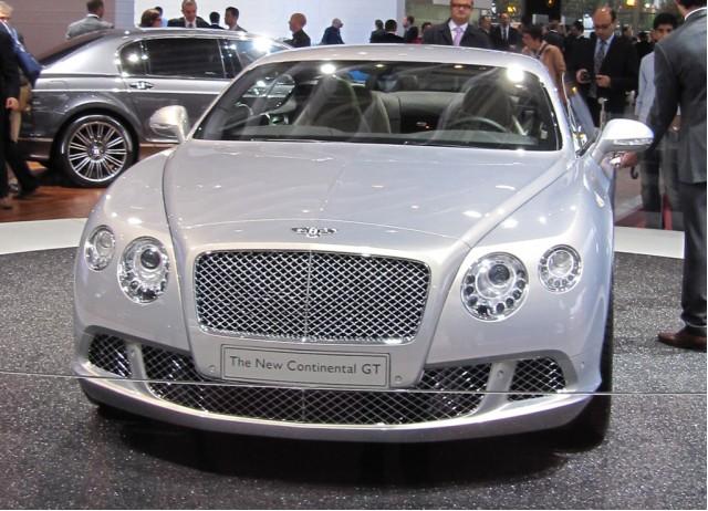 2011 Bentley Continental GT live photos