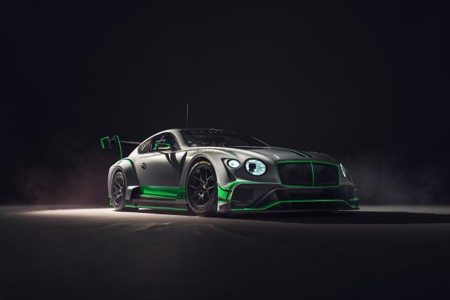 Second-generation Bentley Continental GT3 racer