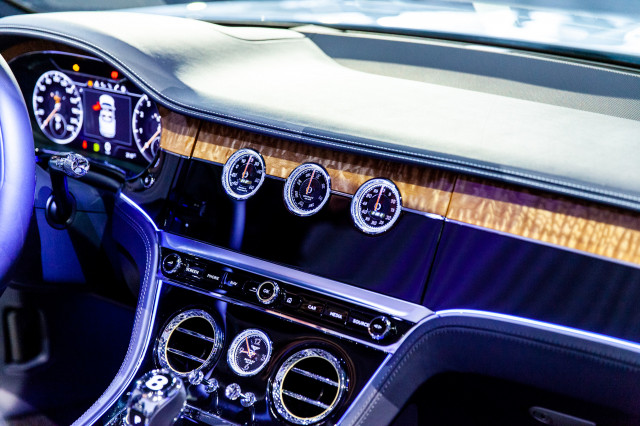 2020 Bentley Continental GT Convertible, 2018 LA Auto Show