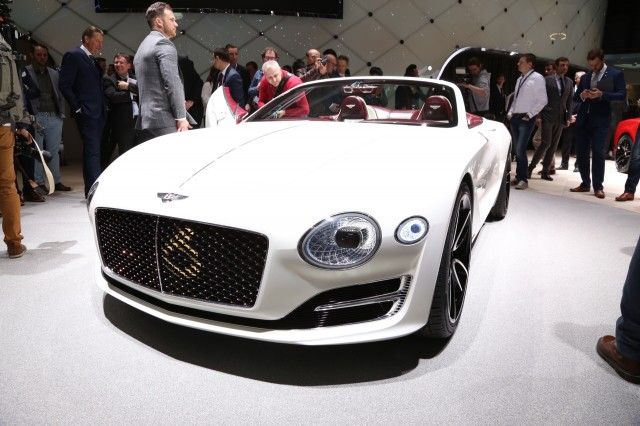 Bentley EXP 12 Speed 6e concept, 2017 Geneva auto show
