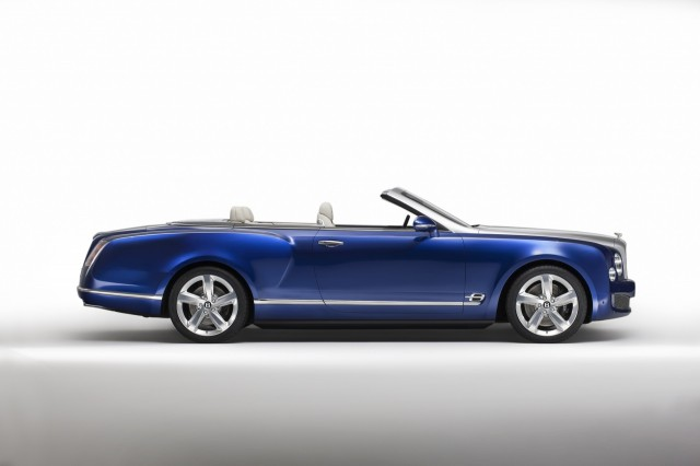 Bentley Grand Convertible Concept  -  2014 Los Angeles Auto Show