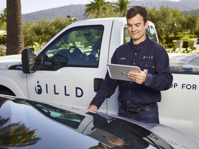 Bentley teams up with Filld to deliver fuel to customers