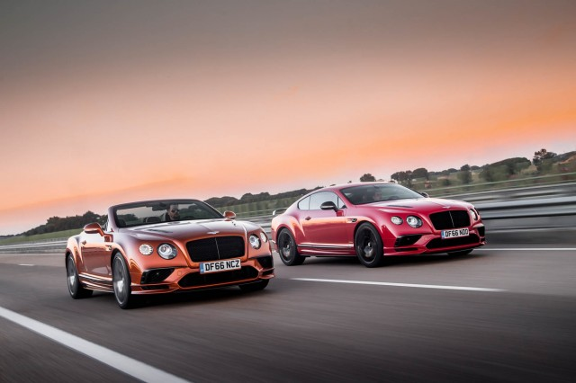 2017 Bentley Continental Supersports and Supersports Convertible