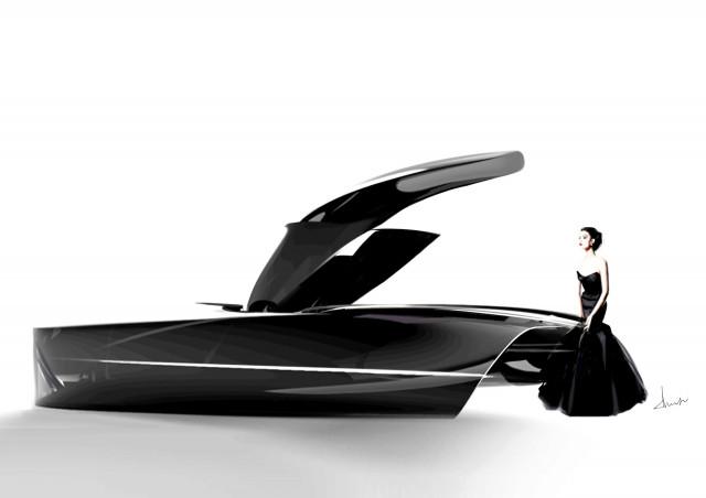 Bentley future luxury art student concept