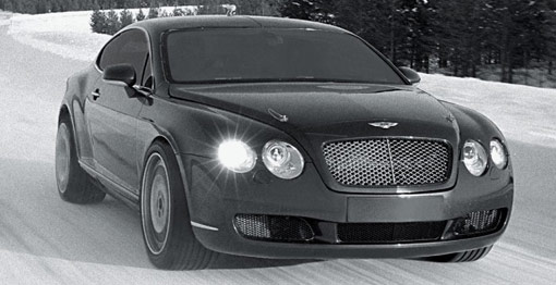 Bentley S Continental Gt Is The Fastest Car On Ice