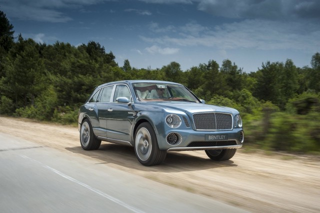 Bentley's EXP 9 F SUV concept
