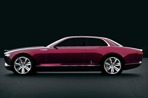 Bertone Jaguar B99 Concept Leaked