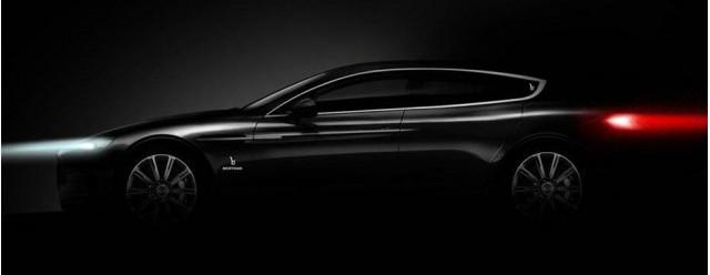 Bertone's teased concept for the 2013 Geneva Motor Show