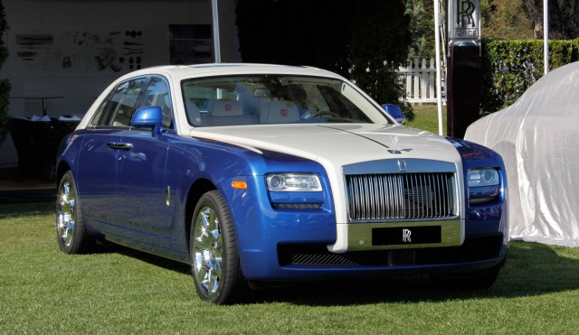 Bespoke 2017 Rolls Royce Ghost At Pebble Beach Concours D Elegance