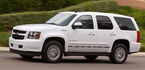 Big hybrid SUVs next sales target for GM