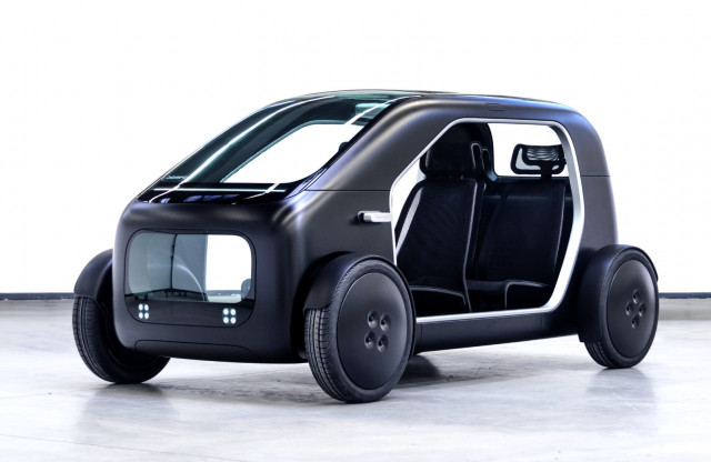 Biomega SIN lightweight urban electric car