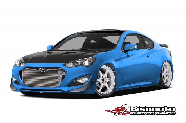 Bisimoto Engineering Hyundai Genesis Coupe