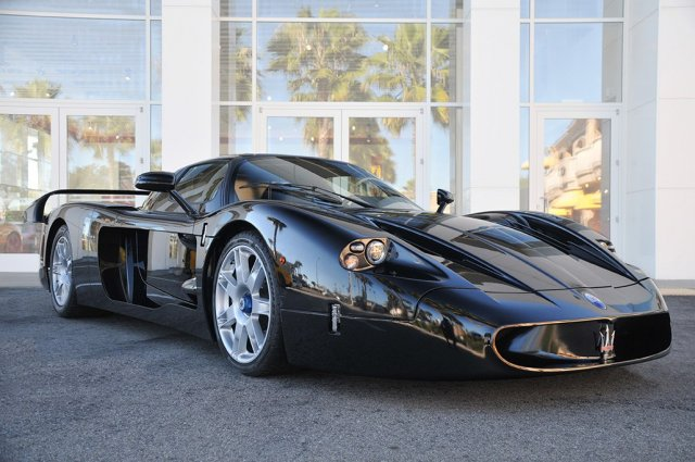 maserati mc12 in black offered up for sale. Black Bedroom Furniture Sets. Home Design Ideas