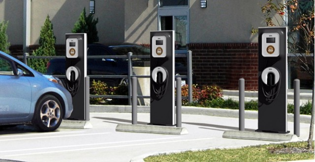 Ecotality Blink Charging Stations For Electric Plug In Cars