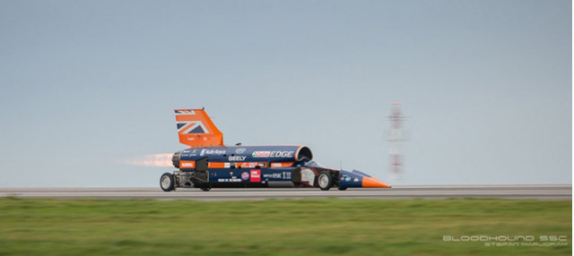 Bloodhound SSC Performs First Public Test - October 26, 2017