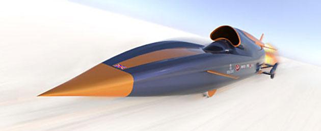 Bloodhound SSC rocket car