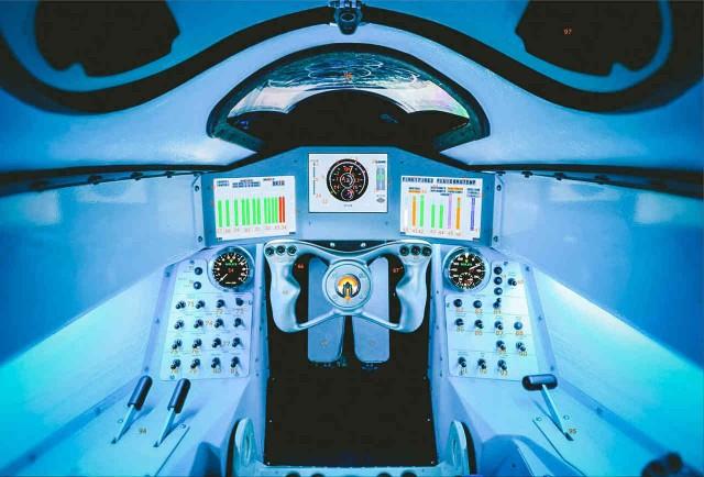 Bloodhound SSC's cockpit