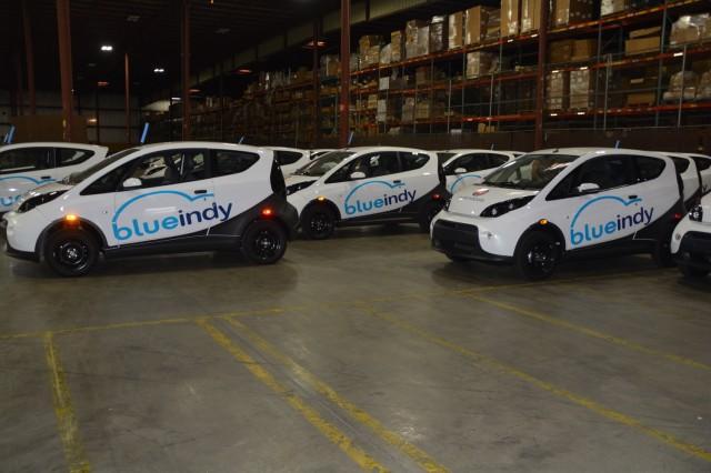 BlueIndy Bolloré BlueCars