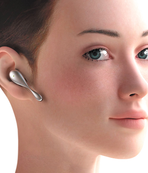 Bluetooth headset concept by Ilshat Garipov