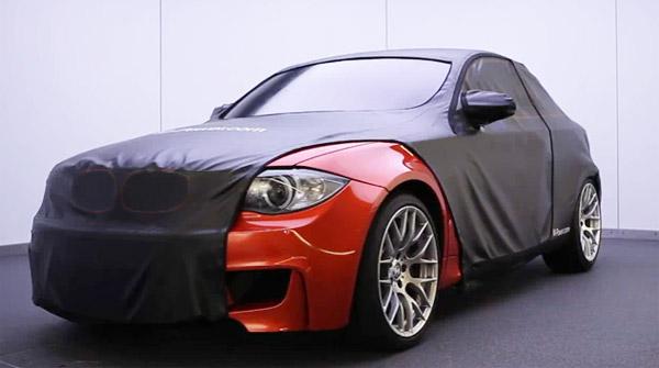 BMW 1-Series M car teaser