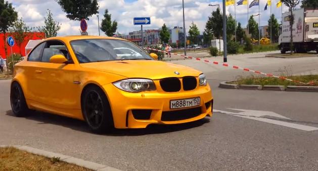 9e9fa9e4a2e BMW 135i Becomes Truly Glorious With M3 V-8 Engine Swap  Video