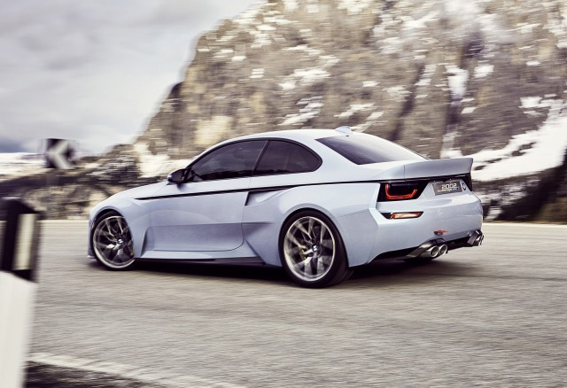 BMW Honors Series With Hommage Concept At Villa DEste - Bmw 2002 series