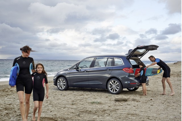 BMW 220d xDrive Gran Tourer (European spec)