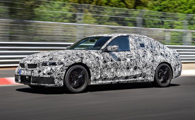 2019 BMW 3-Series prototype testing on the Nürburgring