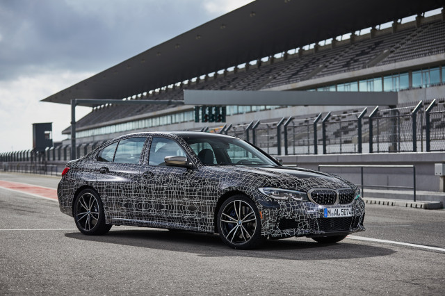 2019 BMW M340i xDrive prototype