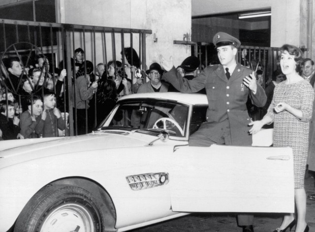 BMW 507 formerly owned by Elvis Presley