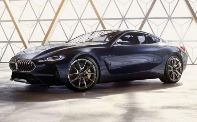 BMW 8-Series concept leaked ahead of 2017 Concorso d'Eleganza Villa d'Este