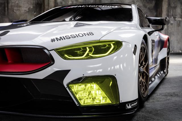 2018 BMW M8 GTE racecar